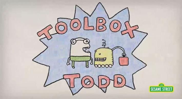 Toolbox Todd Fixes a Wheel | Sesame Street