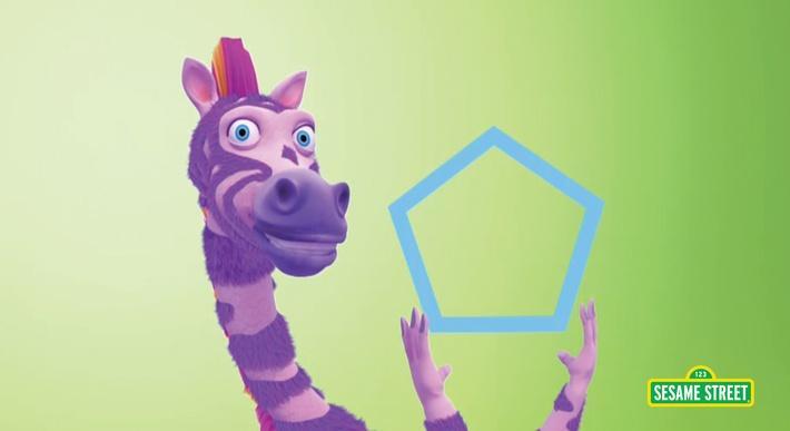 Ziggysaurus Shape Rap | Sesame Street