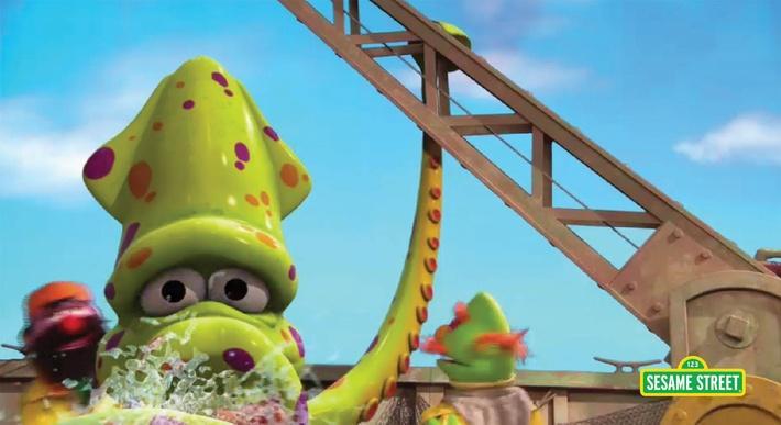 The Heaviest Catch | Sesame Street