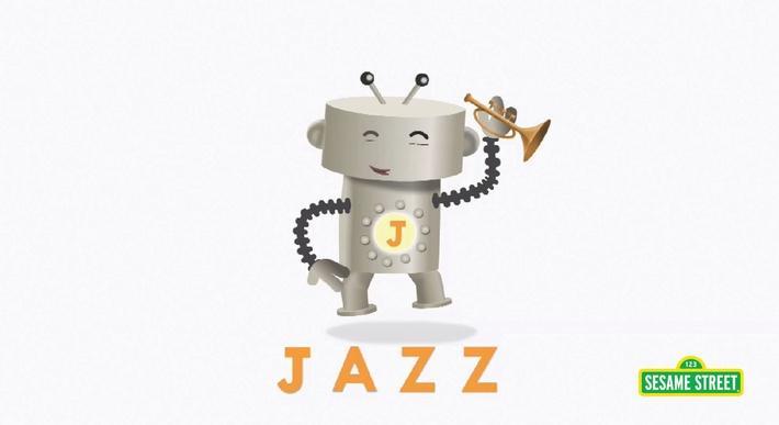 Letter J Robot | Sesame Street
