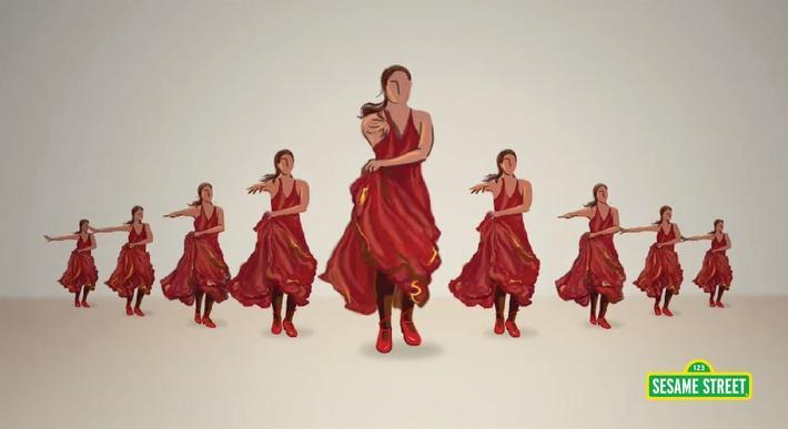 9 Spanish Dancers | Sesame Street