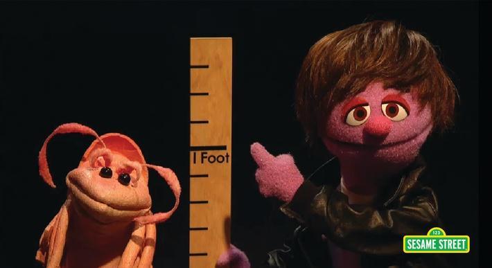 Measure, Yea, Measure with Justin Bieber | Sesame Street