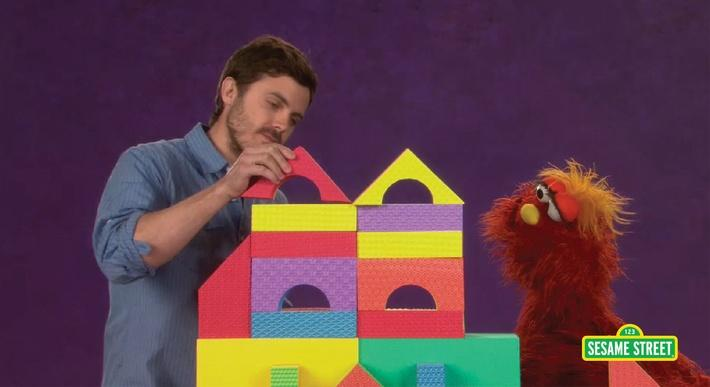 Casey Affleck: Careful | Sesame Street