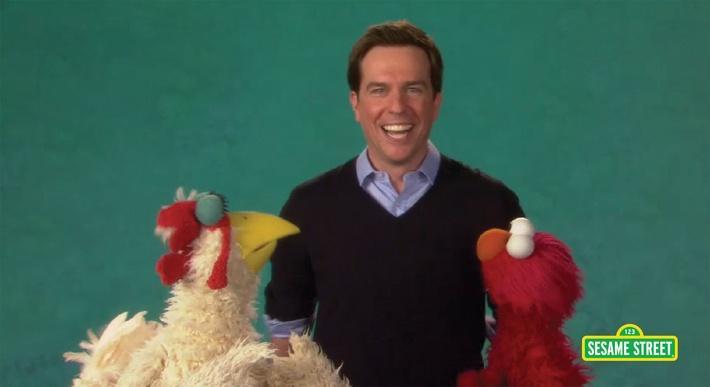 Ed Helms: Grimace | Sesame Street