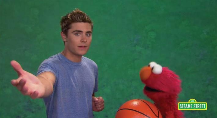 Zac Efron: Patience | Sesame Street