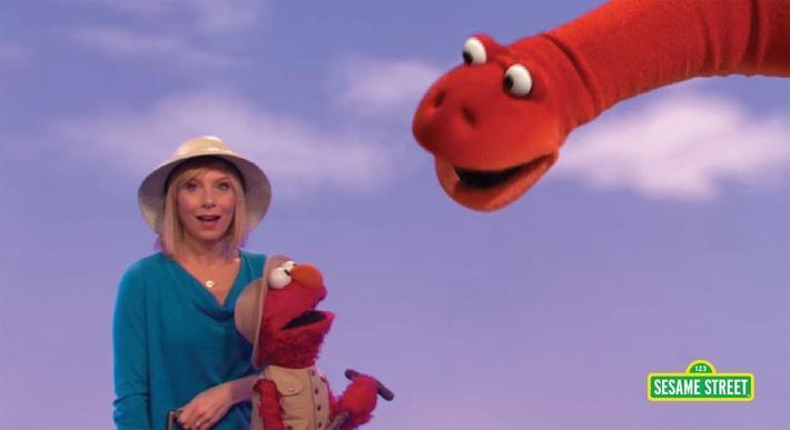 Amy Ryan: Paleontologist | Sesame Street