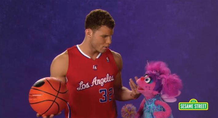 Blake Griffin: Champion | Sesame Street