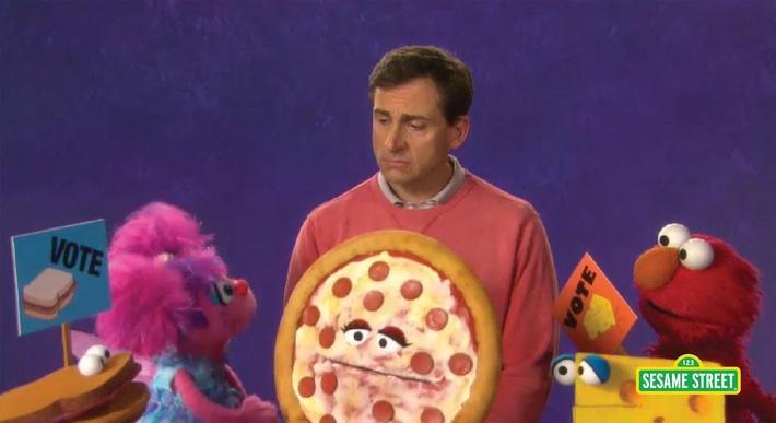 Steve Carrell: Vote | Sesame Street