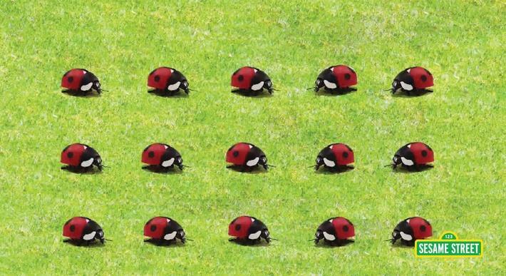 15 Ladybugs | Sesame Street
