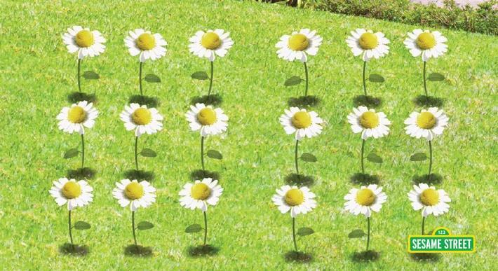 18 Flowers | Sesame Street