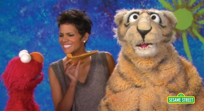 Halle Berry: Nibble | Sesame Street