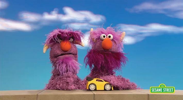 Two-Headed Monster Takes Turns | Sesame Street