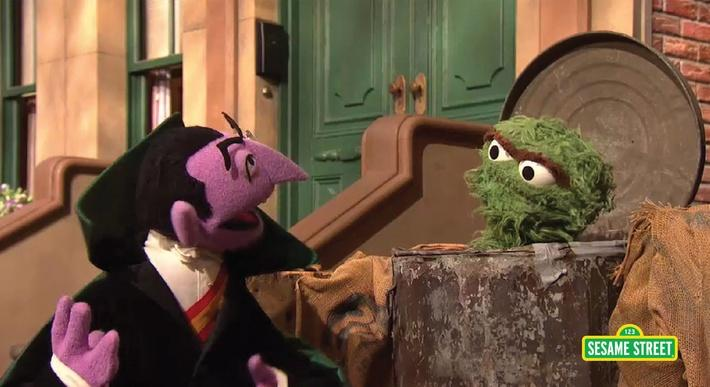 The Count Counts to Zero | Sesame Street