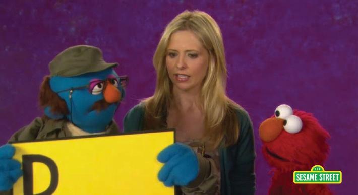 Sarah Michelle Gellar: Disappointed | Sesame Street