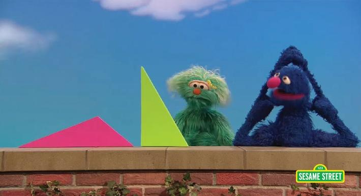 The Right Triangle | Sesame Street