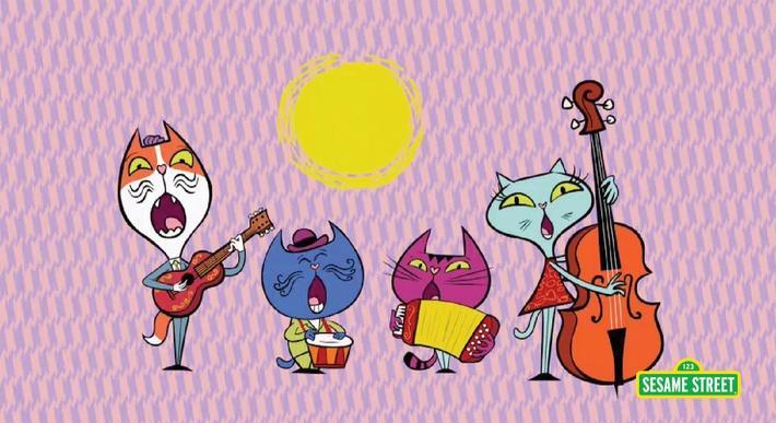 Cuatro Gatos | Sesame Street