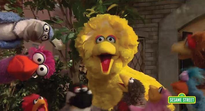 That's Cooperation!   Sesame Street