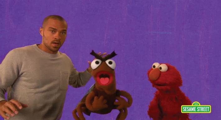 Jesse Williams: Furious | Sesame Street