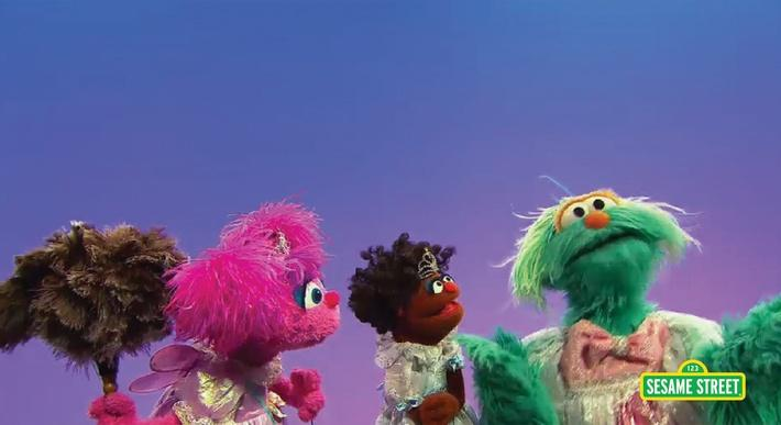 Three Girls in the Same Dress | Sesame Street