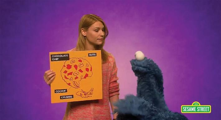 Claire Danes: Diagram | Sesame Street