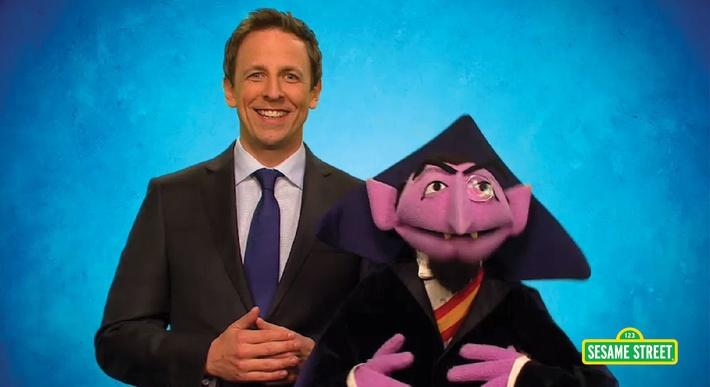 Seth Meyers: Greeting | Sesame Street