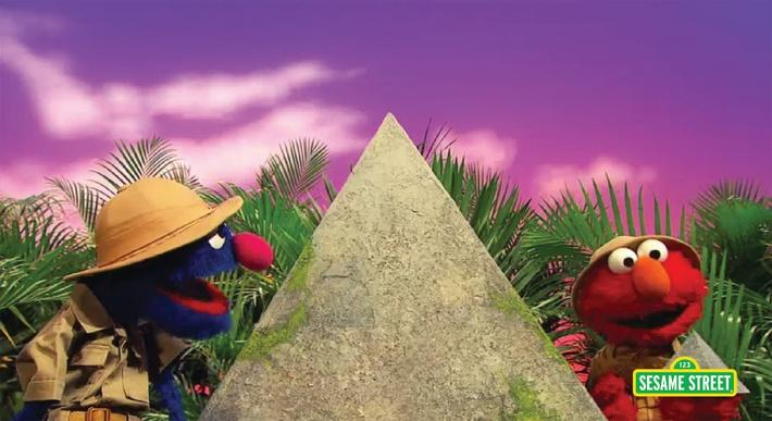 Grover Finds A Pyramid | Sesame Street