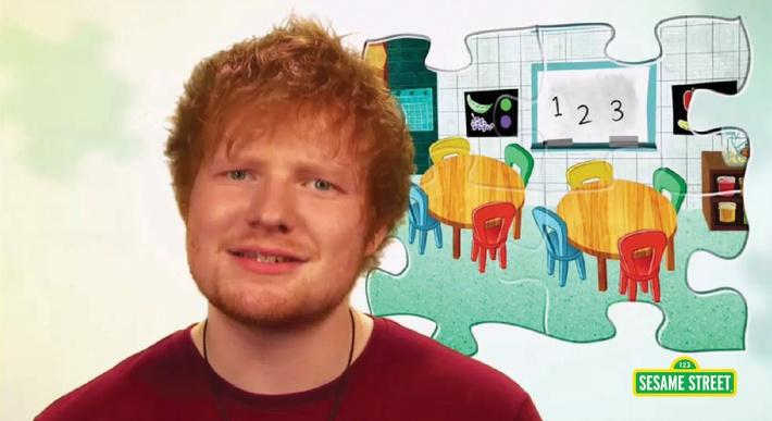 Ed Sheeran: I Live In Two Different Worlds | Sesame Street