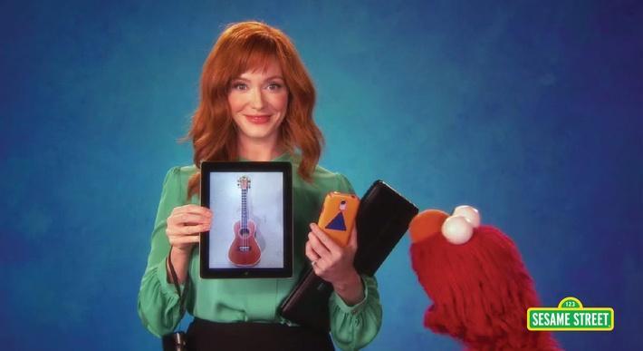 Christina Hendricks: Technology | Sesame Street