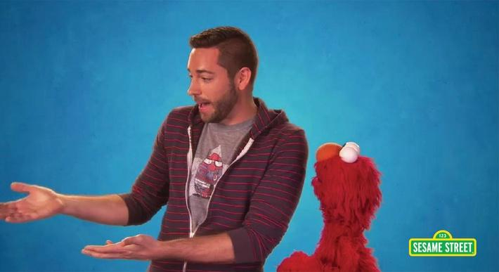 Zachary Levi: Applause | Sesame Street