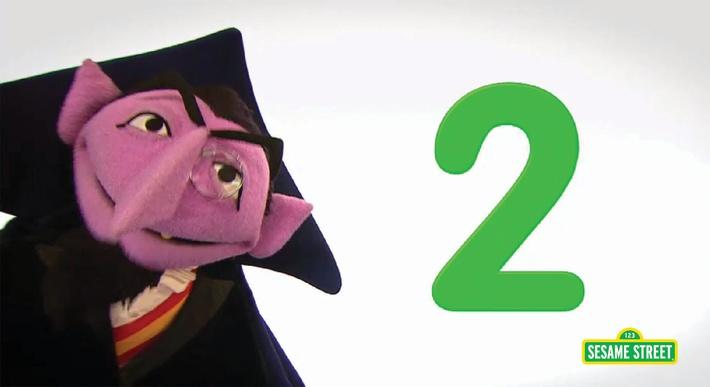 Song: Number of the Day: 2 | Sesame Street