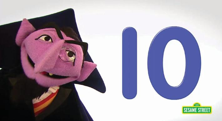 Song: Number of the Day: 10 | Sesame Street