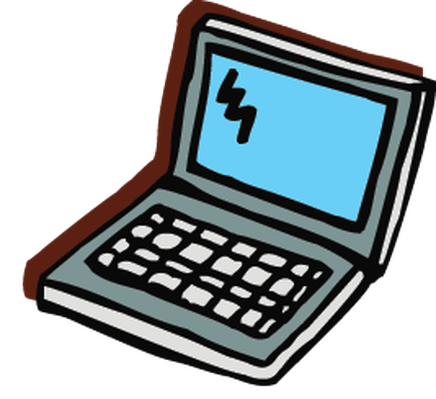 Electronics - Laptop Computer | Clipart