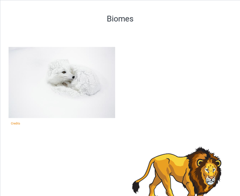 All about Biomes