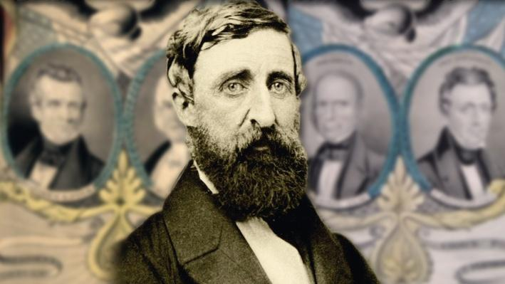 comparing henry david thoreau and herman melvilles Herman melville biography - in addition to writing many sea novels, herman melville is the best known author of the highly acclaimed american novel, moby dick (1851) herman's mother maria gansevoort melville then raised her children with a little occasional help from henry david thoreau.