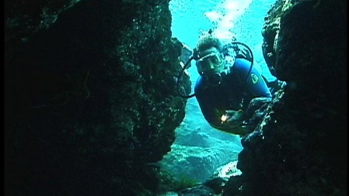 Ginnie Springs Cavern Exploration