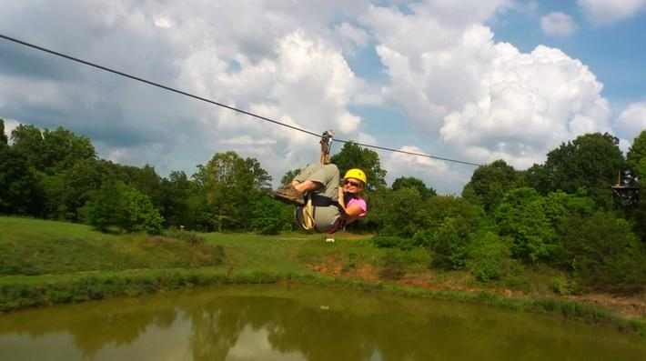 North Georgia Canopy Tours | Fast Forward