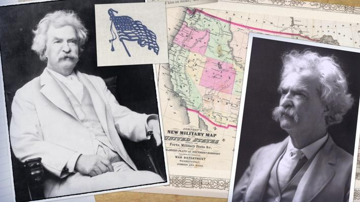 Mark Twain Video Asset