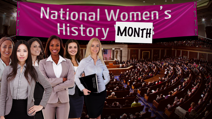 Women's History Month | All About the Holidays
