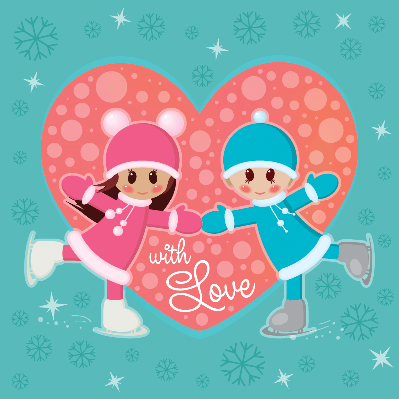 Greeting Card for Valentine's Day | Clipart