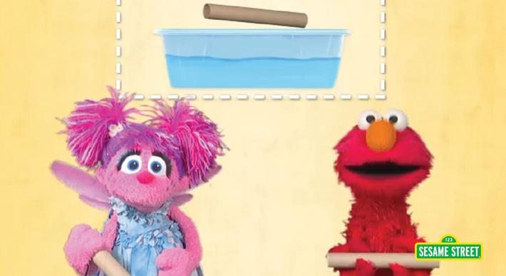 Tubes Sink or Float | Sesame Street