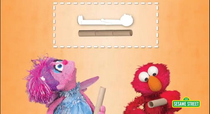 Measuring with Tubes | Sesame Street