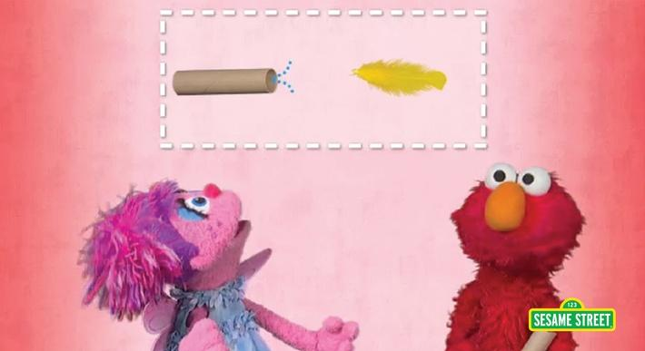 Blowing Air | Sesame Street