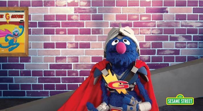 Super Grover 2.0: Digital Ramp | Sesame Street