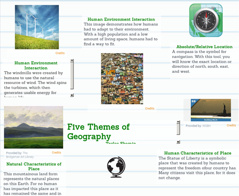 understanding the five themes of geography The 5 themes of geography the five themes of geography • location • place • human-environment interaction • movement • regions location.
