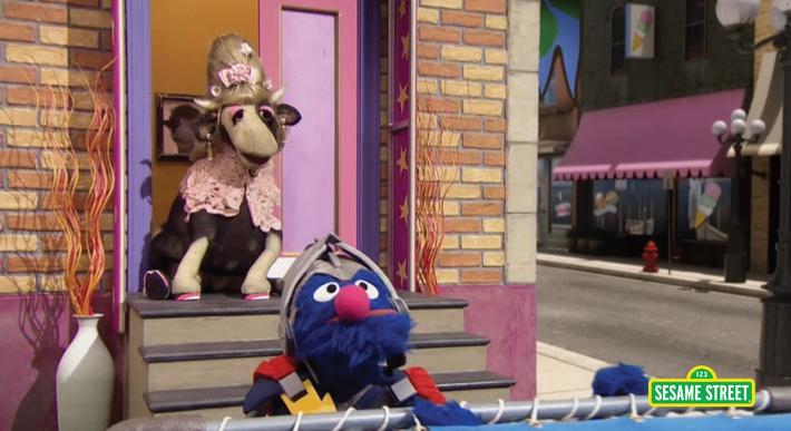 Super Grover 2.0: How Now Down Cow | Sesame Street