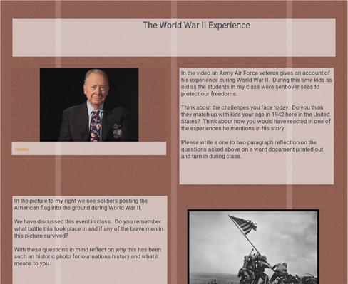 World War II: The Experience