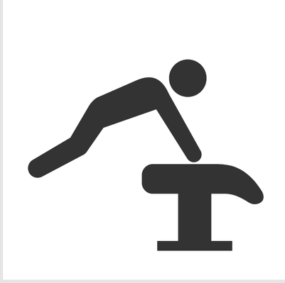 Athletics and Gymnastics Icon Set - Vault | Clipart