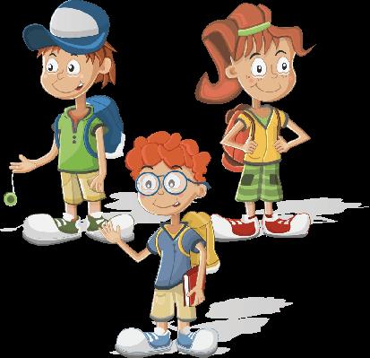 Schoolchildren | Clipart