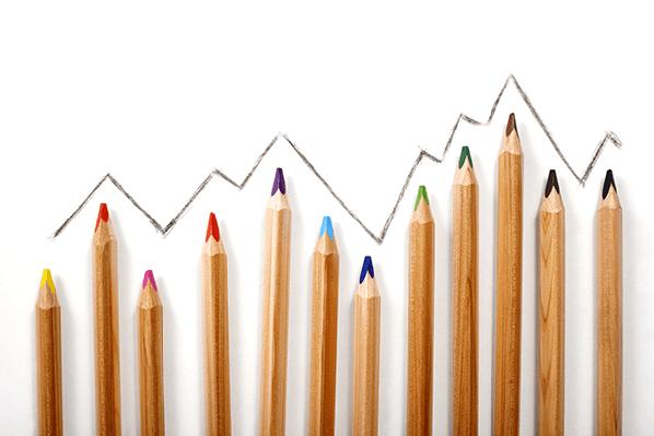 Crayon Graph | Clipart