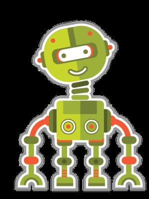 Cute robots | Clipart